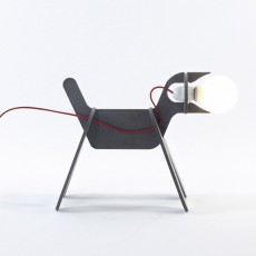 ENO Get out dog lamp - dark grey-listing
