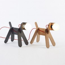 ENO Get out dog lamp - natural-listing