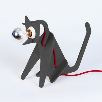 ENO Get out cat lamp - dark grey-listing