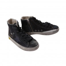 Golden Goose Francy glitter trainers-listing