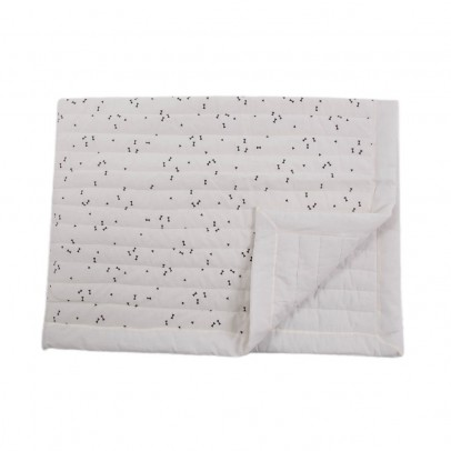 April Showers Cream cover - black pattern-listing
