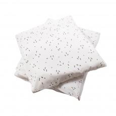 April Showers Parure da letto Ecru - motivi neri-listing