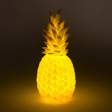 Goodnight Light Pineapple lamp - yellow-listing