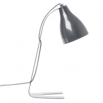 Leitmotiv Lámpara de mesa Barefoot - Gris oscuro-listing