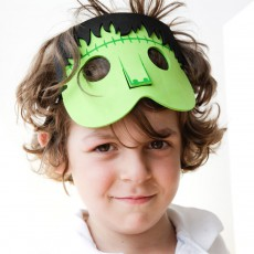 Kikkerland Máscaras de fiesta Monstruo - Set de 5-product