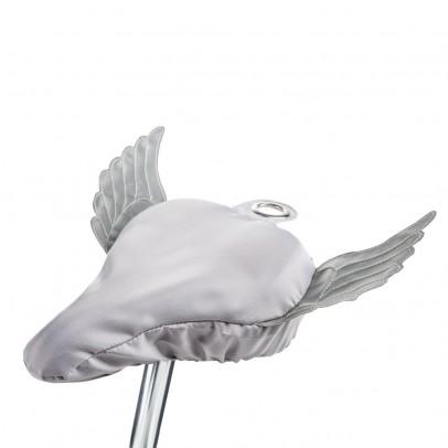 Donkey Products Sattelschutz Erwachsene silberne Flügel-listing