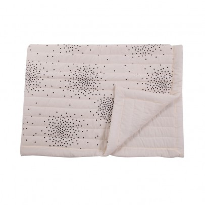 April Showers Cream cover - black dots-listing
