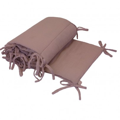 Numero 74 Bed bumper - dusty pink-listing