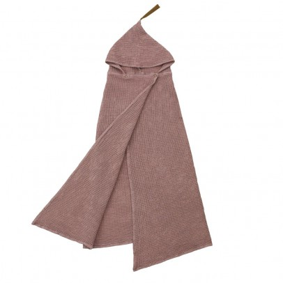 Numero 74 Child's bath cape - Dusty pink-product
