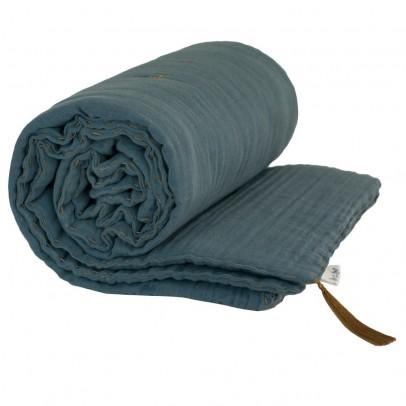 Numero 74 Manta de invierno - Azul grisáceo-listing