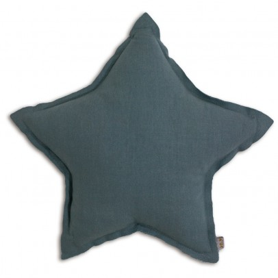 Numero 74 Sternkissen - Blau grau-product