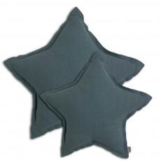 Numero 74 Cojín estrella - Azul grisáceo-listing