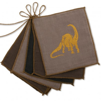 Numero 74 Dinosaur bunting flags-product