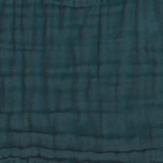 Numero 74 Babero redondo - Azul petróleo-product