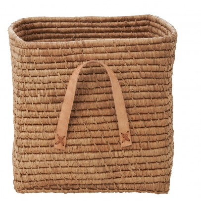 Rice Storage box 30 cm - natural-listing