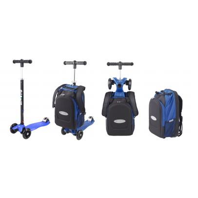 Micro Trottinette Maxi Micro 4en1 avec sac - Bleu-listing