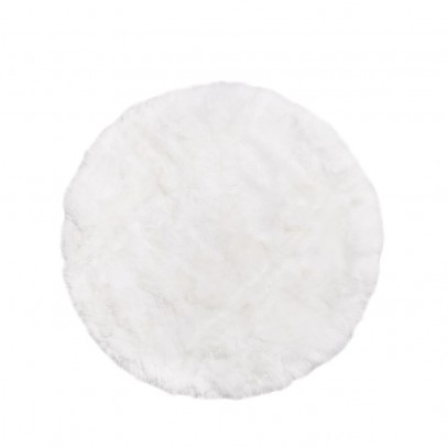 Smallable Home Sheepskin round carpet-listing