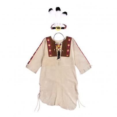 Helga Kreft Native American Indian costume - Beige-listing