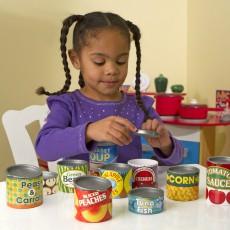 Melissa & Doug Canned Food Play Set-listing