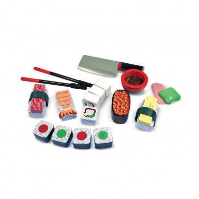 Melissa & Doug Wooden Sushi Slicing Playset-listing