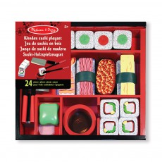 Melissa & Doug Wooden Sushi Slicing Playset-listing