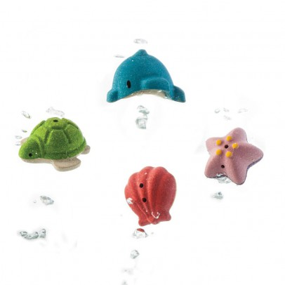 Plan Toys Mis animales marinos de baño-listing