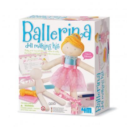 """4M Set """"Bastel deine eigene Ballerina Puppe""""-listing"""