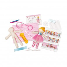 4M Make your own ballerina doll set-listing