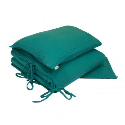Numero 74 Bed linen set - turquoise-product