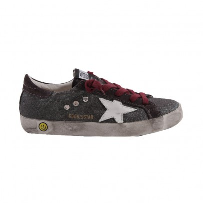 Golden Goose Superstar glitter low trainers-product