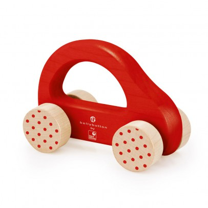 Selecta Wooden car - red-listing
