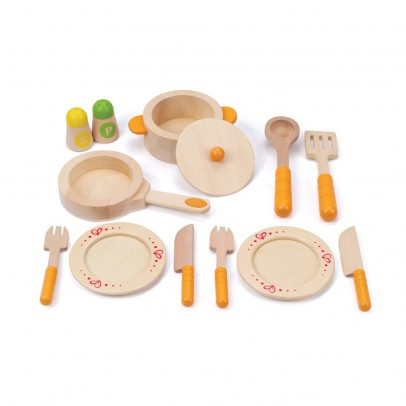 Hape Wooden tea set Multicoloured-listing