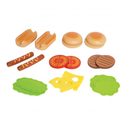 Hape Hamburgers et hot dog-listing