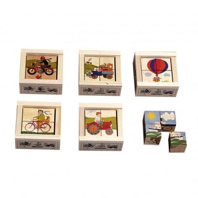 Bass & Bass Cubes 4 pièces Transport-listing