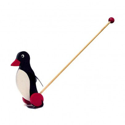 Bass & Bass Juego Empujar el pingüino-listing