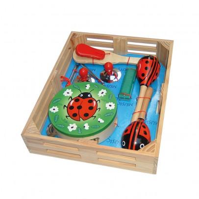Bass & Bass Ladybird musical box-listing