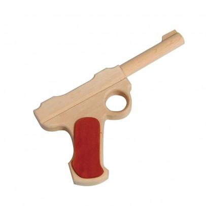 Bass & Bass Wooden Colt Pistol-listing