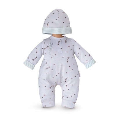 Corolle My First Baby 30cm Grey stars pyjama and hat-listing