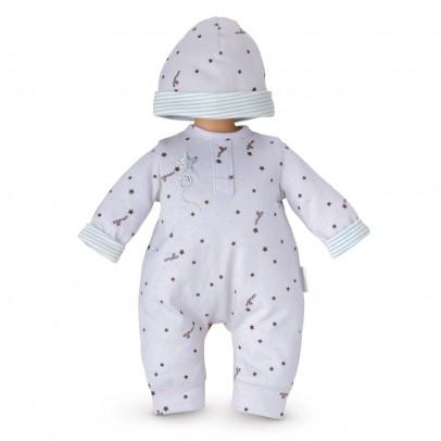 Corolle Pyjama Grau Sterne und Mütze 36cm für Classique Corolle-listing