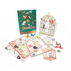 Mon Petit Art Caja Bird House El Canto de los pájaros-listing