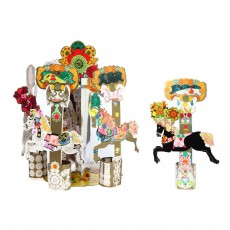 Mon Petit Art Enchanted horses carousel box-listing