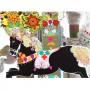 Mon Petit Art Cofre Carrusel caballos encantados-medium