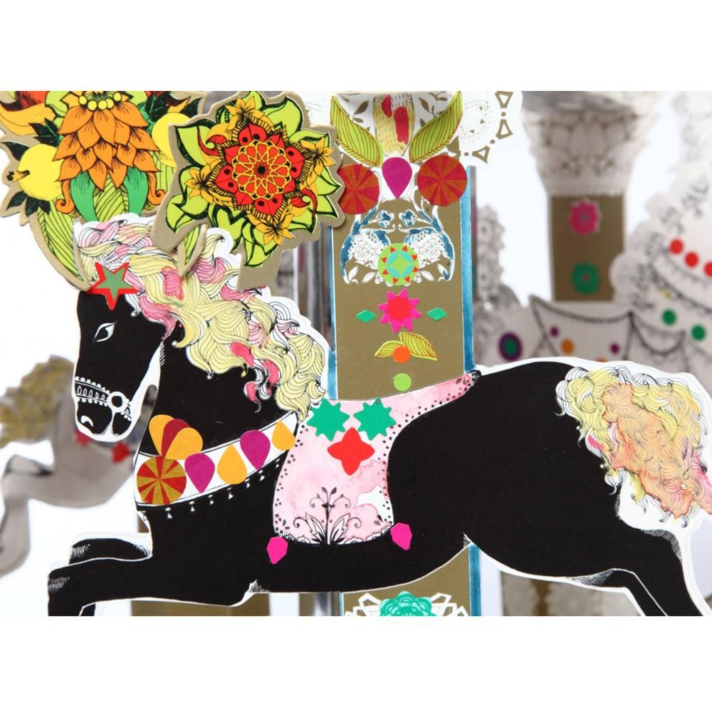 Mon Petit Art Cofre Carrusel caballos encantados-product