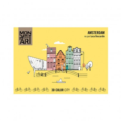 Mon Petit Art 3D colour city - Amsterdam-listing