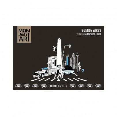 Mon Petit Art 3D Color City - Buenos Aires-listing