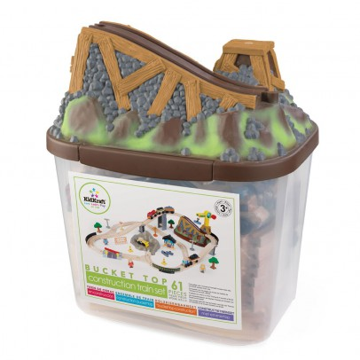 KidKraft Bucket Top Construction Train Set-listing