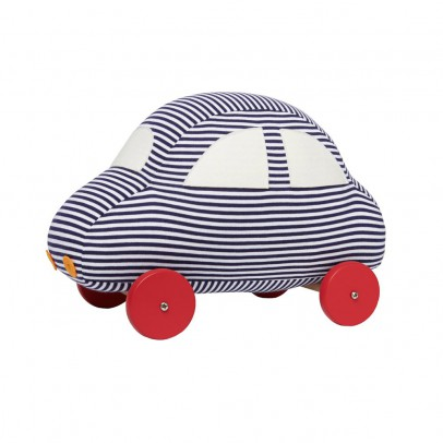 Trousselier Large Striped Car with wheels-listing