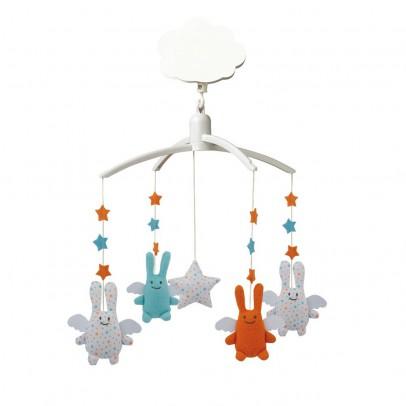 Trousselier Móvil musical y ángel conejo estrellas-listing