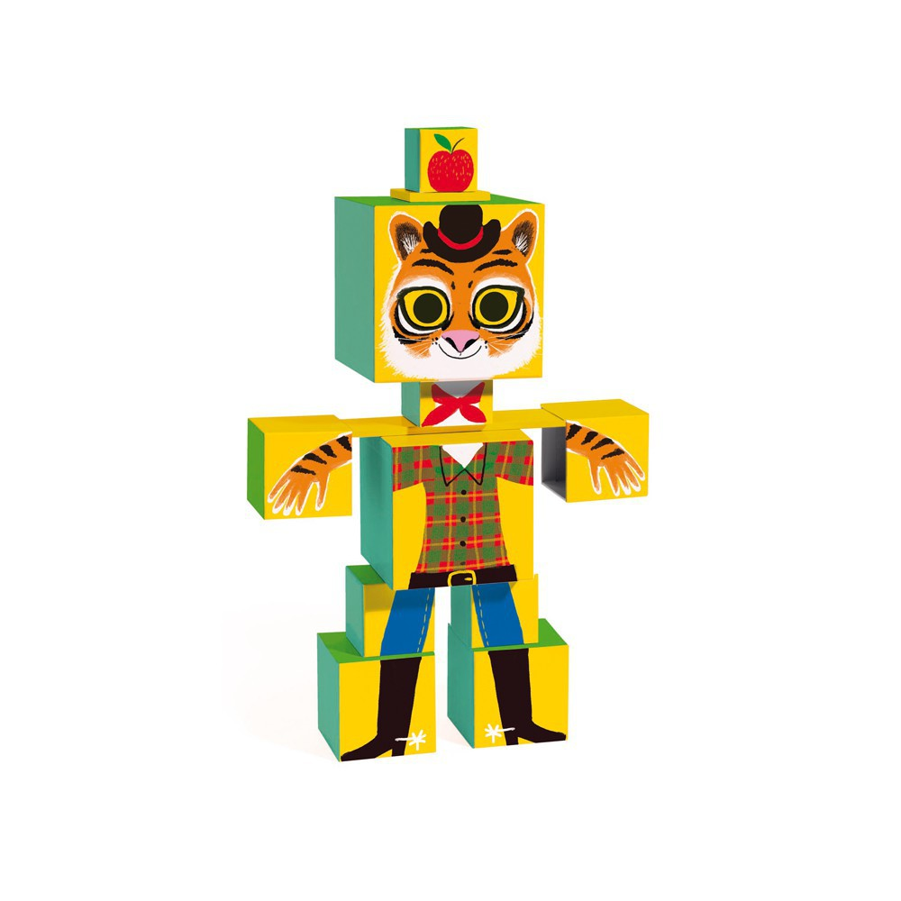 Djeco Totem Cubos Rigolo-product