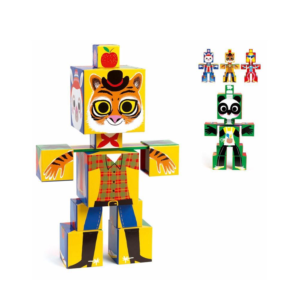 Djeco Rigolo Cubes Totem-product